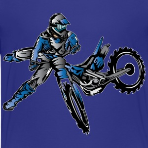 Yamaha Freestyle Dirt Bike Kids' Shirts - Kids' Premium T-Shirt