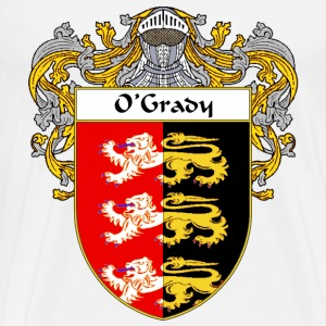 O'Grady Coat of Arms/Family Crest - Men's Premium T-Shirt