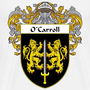 O'Carroll Coat of Arms/Family Crest - Men's Premium T-Shirt