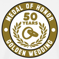 MEDAL OF HONOR 50th GOLDEN WEDDING 3C T-Shirt