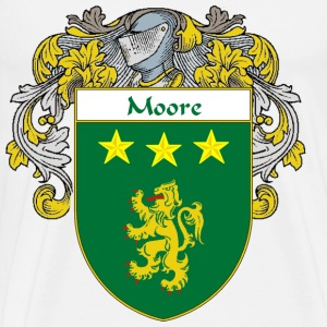 Moore Coat of Arms/Family Crest - Men's Premium T-Shirt