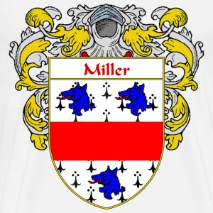Miller Coat of Arms/Family Crest - Men's Premium T-Shirt