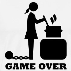 game over cooking woman bachelorette bachelor   T-Shirts