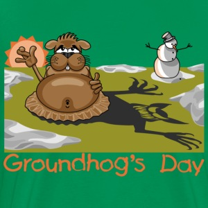 Groundhog - Men's Premium T-Shirt