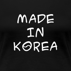 Made in Korea women's t-shirt - Women's Premium T-Shirt