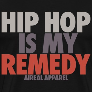 Hip Hop is My Remedy Mens Tee Shirt by AiReal - Men's Premium T-Shirt