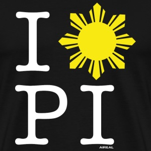 I Love The Philippines Mens Tee Shirt by AiReal - Men's Premium T-Shirt