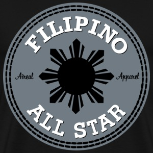 Filipino All Star Mens Tee Shirt by AiReal Apparel - Men's Premium T-Shirt