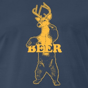 BEAR + DEER = BEER T-Shirts - Men's Premium T-Shirt