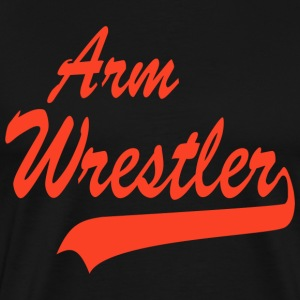 Arm Wrestler T-Shirt - Men's Premium T-Shirt