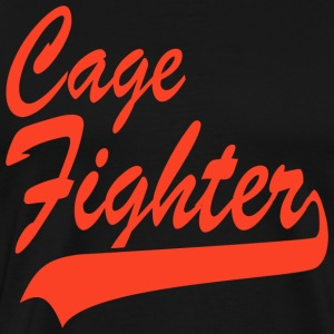 Cage Fighter T-Shirt - Men's Premium T-Shirt