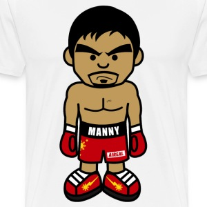 Angry Manny Mens Tee Shirt by AiReal Apparel - Men's Premium T-Shirt