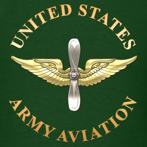 Aviation Branch Insignia - Men's T-Shirt