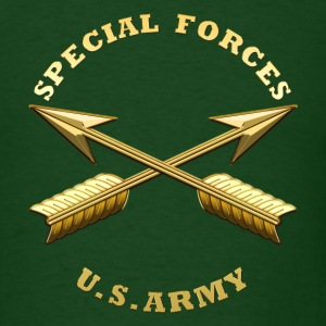Army SF Branch Insignia - Men's T-Shirt