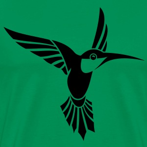 Bird Tribal Tattoo 1 T-Shirts - Men's Premium T-Shirt
