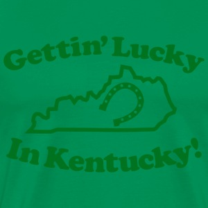 Lucky Kentucky Heavyweight T-Shirt - Men's Premium T-Shirt