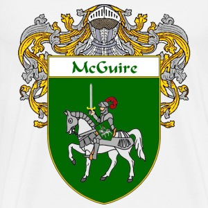 McGuire Coat of Arms/Family Crest - Men's Premium T-Shirt