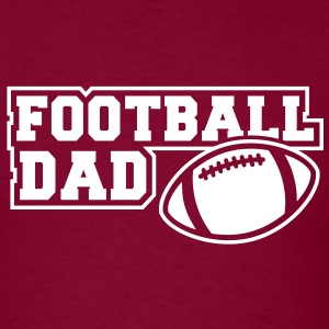 FOOTBALL DAD SIGN T-Shirt WB - Men's T-Shirt