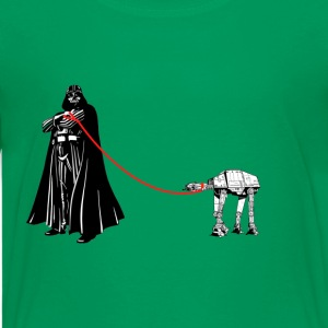 Darth on a Walk - Kids' Premium T-Shirt