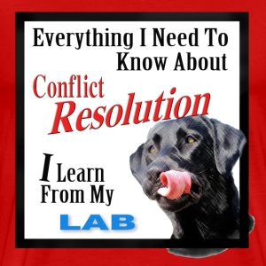 Lab Conflict Resolution - Men's Premium T-Shirt