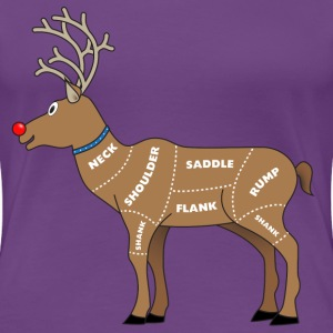 Reindeer Meat For Christmas Women's T-Shirts - Women's Premium T-Shirt