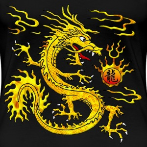Golden Dragon Women's T-Shirts - Women's Premium T-Shirt