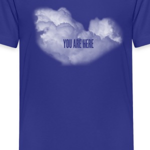 cloud you are here Kids' Shirts - Kids' Premium T-Shirt