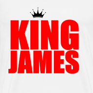 Design ~ king James T-Shirt