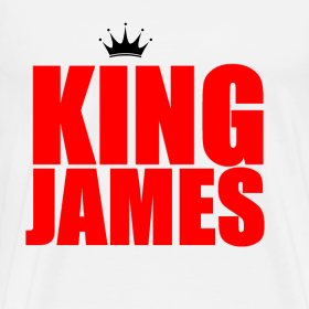Design ~ king James T-Shirt