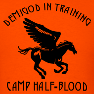 Design ~ Pegasus CAMP Half-Blood Men's T-Shirt