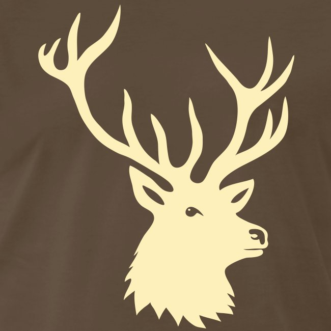 animal t-shirt stag antler cervine deer buck night hunter bachelor