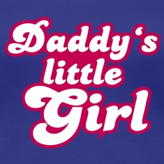 Daddy's little girl Women's T-Shirts
