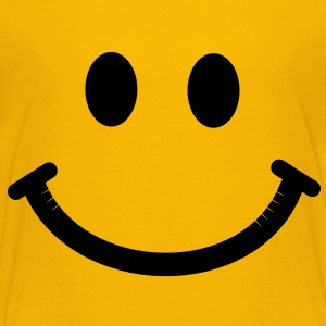 Happy Smiley Face Kids' Shirts - Kids' Premium T-Shirt