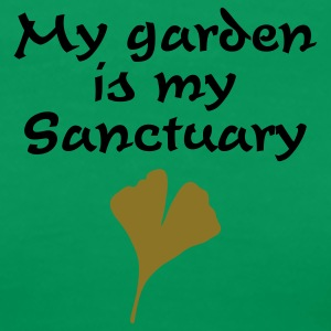 My Garden is my Sanctuary T-Shirt - Women's Premium T-Shirt