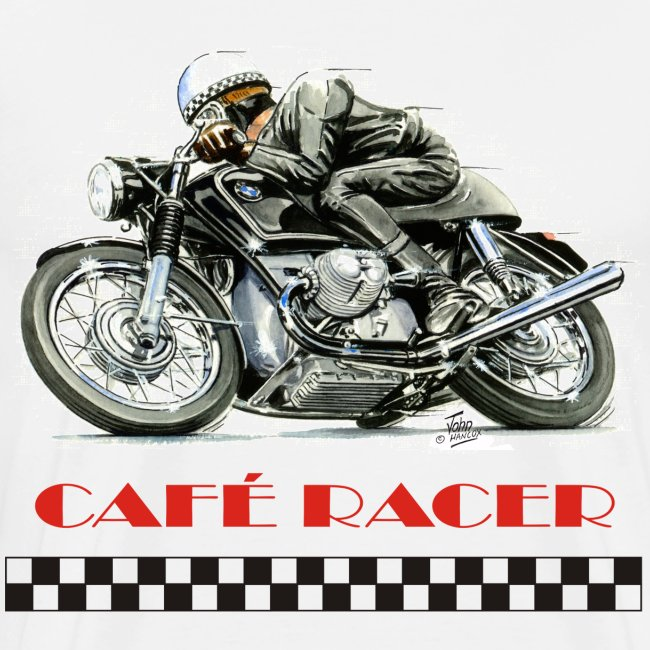 Cafe Racer - BMW Boxer Twin