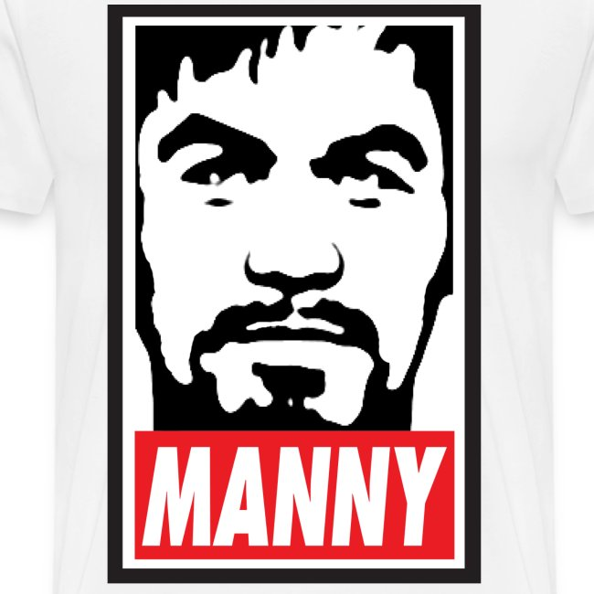 MANNY Mens Tee Shirt by AiReal Apparel