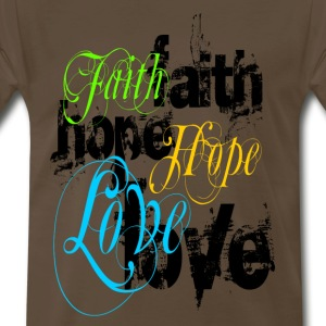 faith_hope_love T-Shirts - Men's Premium T-Shirt