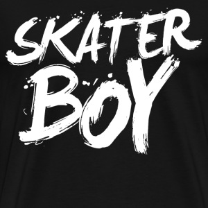 skater boy - Men's Premium T-Shirt