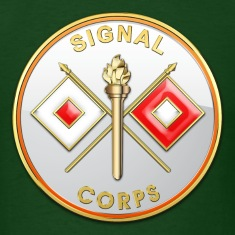 Signal Corps Branch Plaque