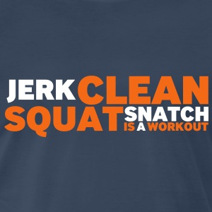 Jerk Clean - Men's Premium T-Shirt