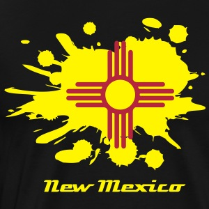 New Mexican Flag T-Shirts - Men's Premium T-Shirt