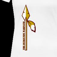 Design ~ Womens Burgundy Warpath Tee