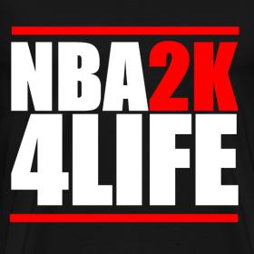 Design ~ NBA2K4LIFE T-Shirt