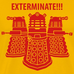 exterminate men - Men's Premium T-Shirt
