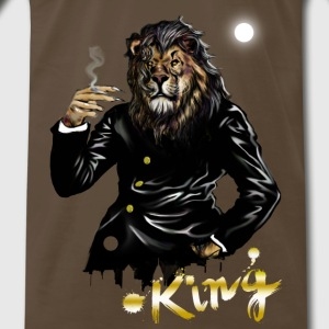 lion.png T-Shirts - Men's Premium T-Shirt