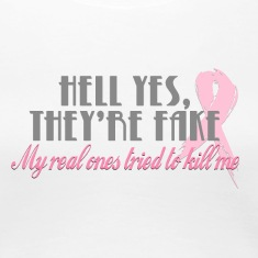 Hell yes they're fake... Women's T-Shirts
