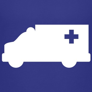 Ambulance simple shape outline with a cross  Baby & Toddler Shirts - Toddler Premium T-Shirt