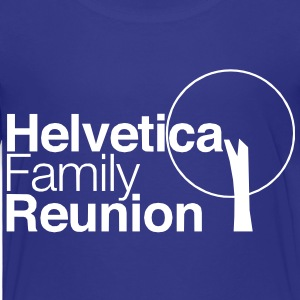 helvetica family reunion Baby & Toddler Shirts - Toddler Premium T-Shirt