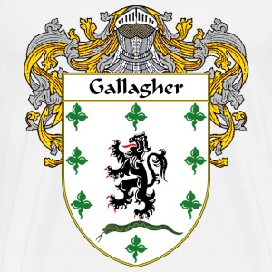 Gallagher Coat of Arms/Family Crest - Men's Premium T-Shirt