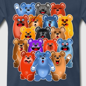 BEAR CROWD 3 T-Shirts - Men's Premium T-Shirt
